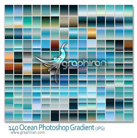 Ocean Breeze Photoshop Gradients