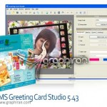 دانلود نرم افزار طراحی کارت تبریک AMS Greeting Card Studio 5.43