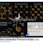 دانلود اکشن ساخت پترن برای فتوشاپ Pattern Generator Action
