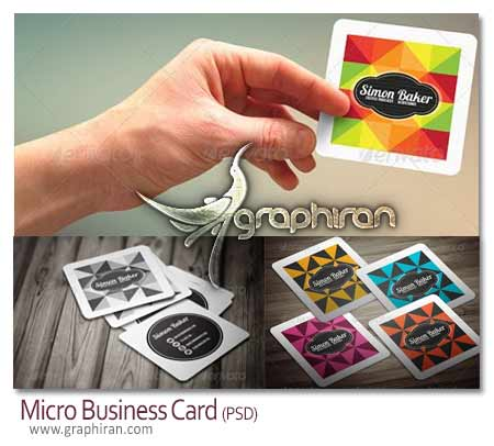 micro business card