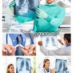 تصاویر استوک پزشک و عکس رادیوگرافی Radiography Stock Photo