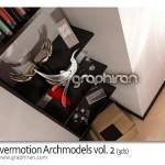 دانلود Evermotion Archmodels vol.2 شامل ۱۰۰ مدل تری مکس لوازم منزل