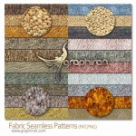 Fabric Seamless Patterns 150x150 افکت مو و دور دوزی پارچه Fur & Knitted Fabric Photoshop Actions