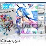 دانلود نرم افزار طراحی و نقاشی تصاویر گرافیکی OpenCanvas v6.2.11