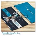 دانلود نمونه لایه باز کارت ویزیت ورزشی Sport Business Card PSD