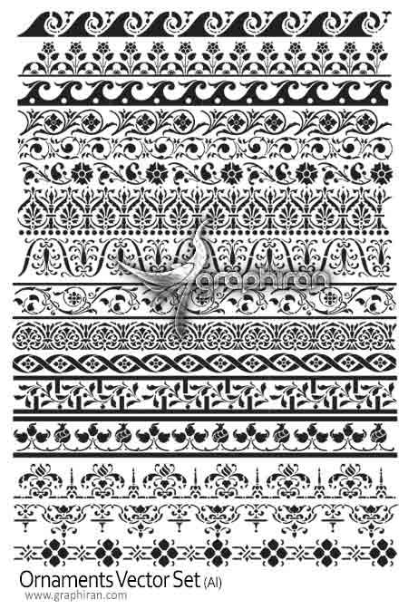 طرح های تزئینی کادر و حاشیه