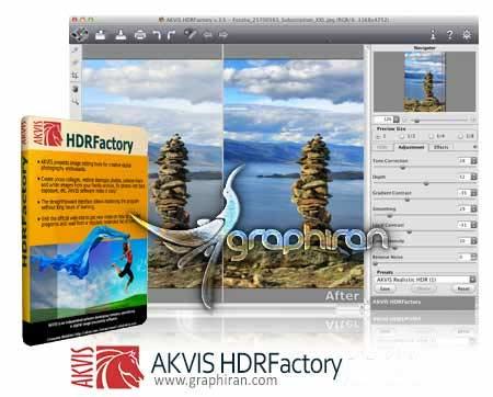 AKVIS HDRFactory
