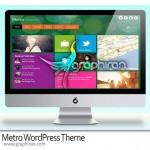 دانلود قالب وردپرس سبک ویندوز ۸ Metro WordPress Theme