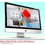 دانلود تم نوروز ویندوز سون Noroz Skin Pack 1.0 For Windows 7