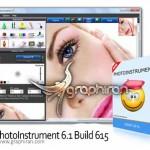 دانلود نرم افزار ساده روتوش عکس PhotoInstrument 6.1 Build 615