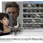 دانلود پلاگین مایا طراحی مو Shave and a Haircut 9.6v10 For Maya