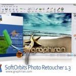 نرم افزار ترمیم و حذف اشیا از عکس SoftOrbits Photo Retoucher Pro 4.0