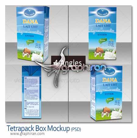 Tetrapack Box Mockup