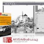 پلاگین فتوشاپ تبدیل خودکار تصاویر به نقاشی AKVIS AirBrush 4.0.426