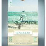 Beach Sound Flyer 150x150 دانلود صدای موج دریا در بندر ماهیگیری و قایق و مرغ های دریایی