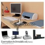 دانلود Evermotion Archmodels vol.7 مدل های لوازم الکترونیک و کامپیوتر