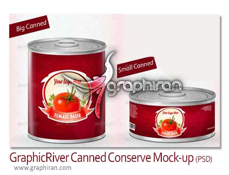 Canned Conserve Mock-up