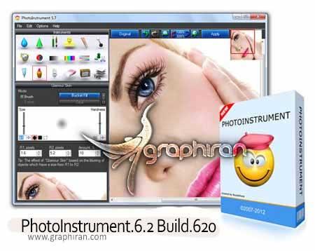 دانلود PhotoInstrument 7.1 Build 721 نرم افزار روتوش چهره کم حجم