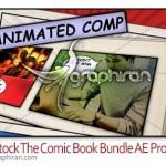 دانلود رایگان پروژه افتر افکت کتاب مصور The Comic Book Bundle