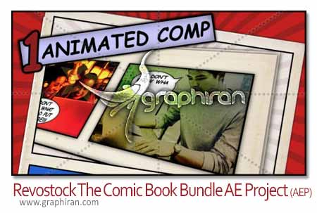 The Comic Book Bundle - After Effects Project