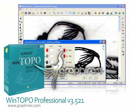 WinTOPO Professional v3.521