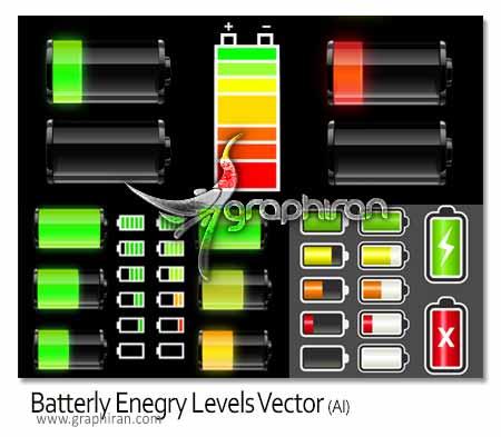 وکتور باتری لپ تاپ
