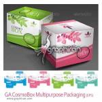 دانلود طرح آماده بسته بندی کالا Multipurpose Packaging Design