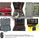 دانلود تصاویر استوک جعبه ابزار کامل Tool Kit Stock Photo