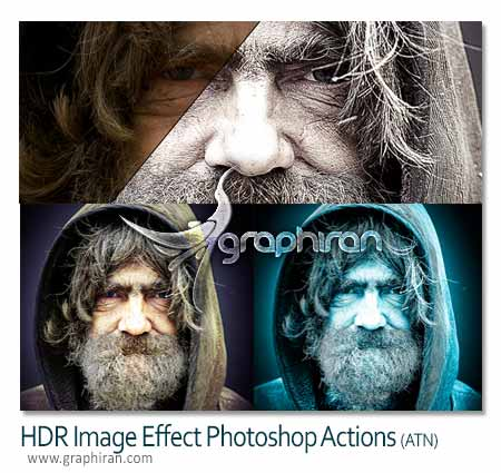 HDR Image Effect Photoshop Actions