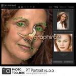 دانلود رایگان نرم افزار روتوش و چهره سازی PT Portrait v4.0.1