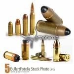 دانلود عکس های استوک گلوله و فشنگ Bullet Fotolia Stock Photo