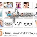 دانلود تصاویر استوک با کیفیت عینک Glasses Fotolia Stock Photo