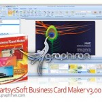 دانلود برنامه ساخت کارت ویزیت SmartsysSoft Business Card Maker v3.00