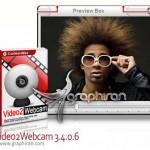 دانلود نرم افزار نمایش فیلم به جای وبکم Video2Webcam 3.7.1.2