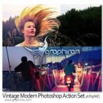 دانلود اکشن ایجاد افکت های مدرن عکاسی برای فتوشاپ