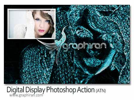 اکشن ساخت افکت دیجیتالی عکس