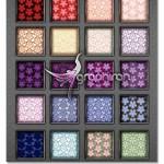 floral pattern 150x150 دانلود طرح های وکتور کادر و حاشیه گل دار زیبا Floral Borders
