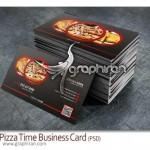 دانلود کارت ویزیت فست فود و پیتزا فروشی PSD لایه باز – شماره ۱۳۹
