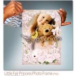 دانلود رایگان فون کودک لایه باز با کادر گل های زیبا – شماره ۲۴