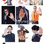 دانلود تصاویر استوک موضوع ایست و منع کردن Stop Stock Photo