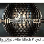 Metallic 3D Intro After Effects Project 150x150 ۳۰ براش فتوشاپ گوی های انتزاعی Abstract Sphere Brushes