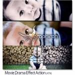 Movie Drama Effect 150x150 پک ۷۴ استایل فتوشاپ فیلم های سینمایی Movie Text Style Bundle