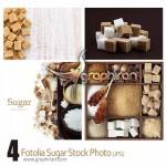 دانلود عکس های استوک حبه قند، شکر و نبات Sugar Stock Photo