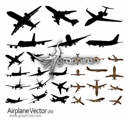 وکتور هواپیما