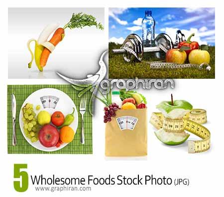 عکس استوک غذاهای سالم و مقوی