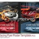Car Racing Flyer Poster Magazine Template 150x150 کارت ویزیت اجاره یا نمایشگاه ماشین PSD لایه باز – شماره ۳۳۱