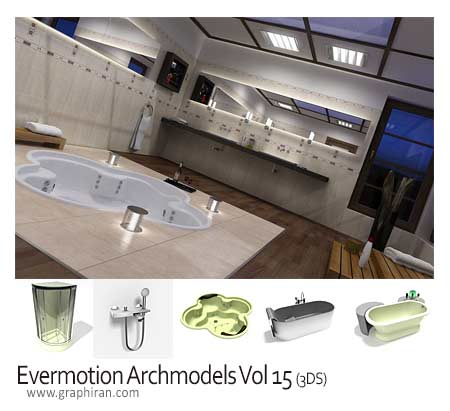 دانلود Evermotion Archmodels Vol.15