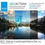 دانلود اکشن های فتوشاپ زیباسازی عکس های منظره های طبیعی