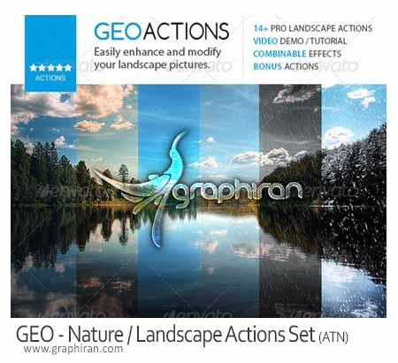 GEO Premium Nature Landscape Actions Set