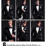 دانلود مجموعه تصاویر استوک مدل مرد با کت و شلوار رسمی